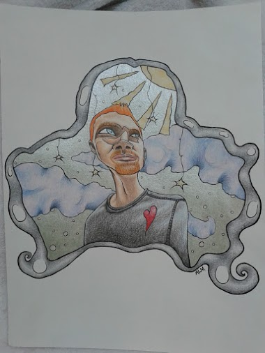 A Distorted Portrait of my Boyfriend Nick (colored pencil and liquid acrylics).jpg