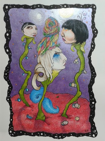 A Karen O's Garden (colored pencil and liquid acrylics).jpg