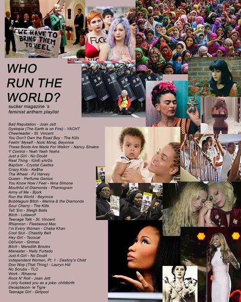 feminist anthem playlist