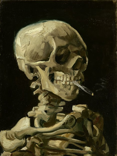 Vincent_van_Gogh_-_Head_of_a_skeleton_with_a_burning_cigarette_-_Google_Art_Project
